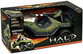 Halo Reach McFarlane Toys Series 1 Vehicle Box Set Warthog with Light Anti-Aircraft Gun