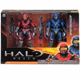 Halo Reach McFarlane Toys Series 1 Action Figure 2-Pack Spartan Hazop [Brick & Blue Steel] COLLECTOR'S CHOICE!