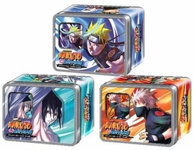 Naruto Shippuden Card Game Set of 3 Rebirth Collector Tins [Naruto, Sasuke & Kakashi]