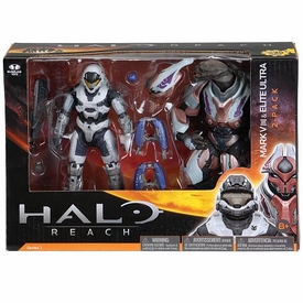 Halo Reach McFarlane Toys Series 1 Action Figure 2-Pack Spartan Mark V [B] & Elite Ultra COLLECTOR'S CHOICE!