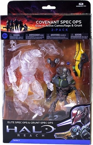 Halo Reach McFarlane Toys Series 5 Action Figure 2-Pack Covenant Spec Ops COLLECTOR'S CHOICE!