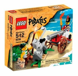 LEGO Pirates Set #6239 Cannon Battle