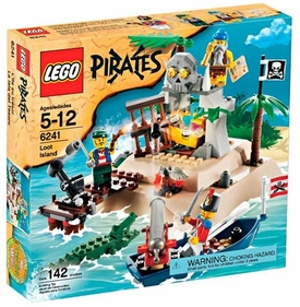 LEGO Pirates Set #6241 Loot Island