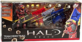 Halo Reach McFarlane Toys Action Figure 3-Pack Team Objectives [Spartan Mark V]