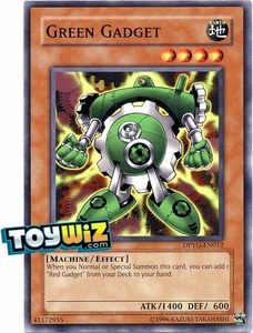 YuGiOh Duelist Pack Yugi Single Card Common DPYG-EN012 Green Gadget