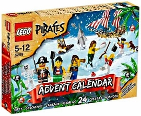 LEGO Pirates Set #6299 2009 Advent Calendar