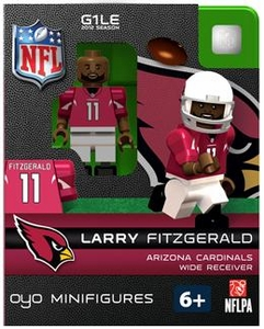 OYO Football NFL Building Brick Minifigure Larry Fitzgerald [Arizona Cardinals]
