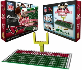 OYO Football NFL Generation 1 Team Field Endzone Set Arizona Cardinals