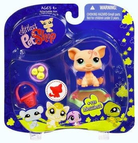 Littlest Pet Shop 2009 Assortment 'B' Series 4 Collectible Figure Pig