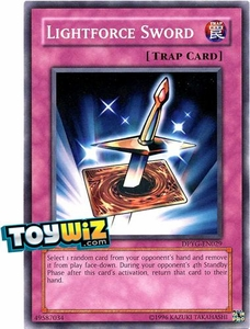 YuGiOh Duelist Pack Yugi Single Card Common DPYG-EN029 Lightforce Sword
