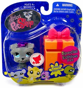 Littlest Pet Shop 2009 Assortment 'B' Series 4 Collectible Figure Schnauzer Dog [Special Edition Pet!]