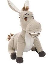 Shrek Forever After Mini Plush Figure Donkey