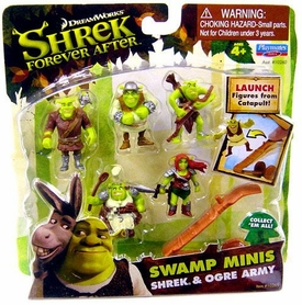 Shrek Forever After Swamp Minis Figure Set Shrek & Ogre Army