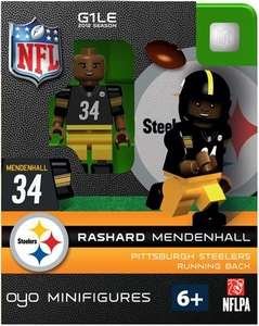OYO Football NFL Building Brick Minifigure Rashard Mendenhall [Pittsburgh Steelers]