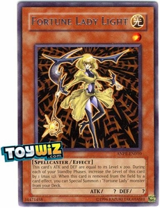 YuGiOh Ancient Prophecy Single Card Rare ANPR-EN010 Fortune Lady Light