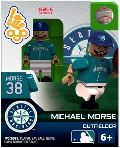 OYO Baseball MLB Generation 2 Building Brick Minifigure Michael Morse [Seattle Mariners] Pre-Order ships April