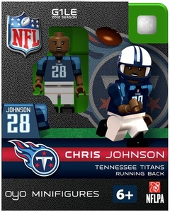 OYO Football NFL Building Brick Minifigure Chris Johnson [Tennessee Titans]