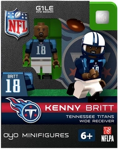 OYO Football NFL Building Brick Minifigure Kenny Britt [Tennessee Titans]