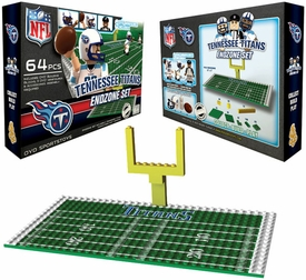 OYO Football NFL Generation 1 Team Field Endzone Set Tennessee Titans