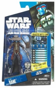 Star Wars 2011 Clone Wars Action Figure CW No. 42 Cad Bane with TODO-360 Droid [New Sculpt!]