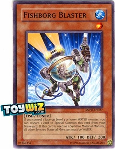 YuGiOh Ancient Prophecy Single Card Common ANPR-EN027 Fishborg Blaster