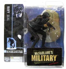 McFarlane Toys Military Soldiers Series 1 Action Figure U.S. Navy Seal [Hispanic]