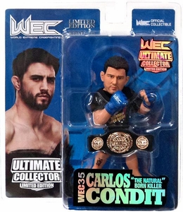 Round 5 UFC Ultimate Collector Series 11  LIMITED CHAMPIONSHIP EDITION Action Figure Carlos Condit Only 1,500 Made!
