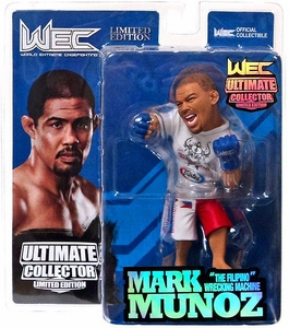 Round 5 UFC Ultimate Collector Series 11  LIMITED EDITION Action Figure Mark Munoz Only 750 Made!