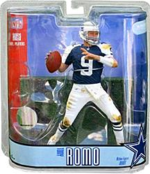 McFarlane Toys NFL Sports Picks Series 15 Action Figure Tony Romo (Dallas Cowboys) Thanksgiving Day Blue Jersey Variant