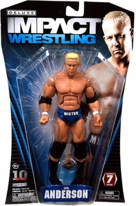TNA Wrestling Deluxe Impact Series 7 Action Figure Mr. Anderson