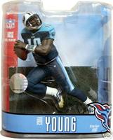 McFarlane Toys NFL Sports Picks Series 15 Action Figure Vince Young (Tennessee Titans) Blue Pants Variant