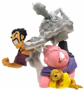 Dragon Ball Z Imagination Figure 7 Mini PVC Scenes Majin Buu, Hercule Evil Buu and Dog BLOWOUT SALE!