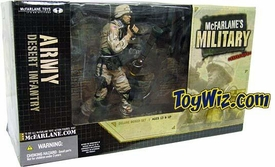 McFarlane Toys Military Soldiers Series 1 Deluxe Boxed Set Desert Infantry (*Random Ethnicity)