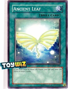 YuGiOh Ancient Prophecy Single Card Common ANPR-EN061 Ancient Leaf