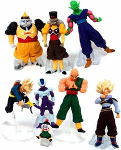 Dragon Ball Z Set of 7 Conflict 3.5 Inch Mini PVC Figures