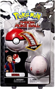 Pokemon Black & White Toy Plush Series 2 Throw Poke Ball Munna