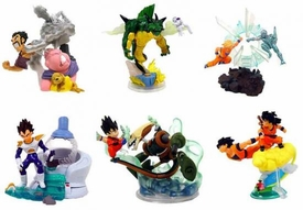 Dragonball Z Imagination Figure 7 Mini PVC Scenes Set of 6 Mini PVC Figures