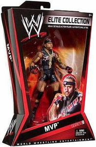 Mattel WWE Wrestling Elite Series 9 Action Figure MVP