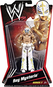 Mattel WWE Wrestling Basic Series 7 Action Figure Rey Mysterio BLOWOUT SALE!