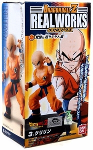 Dragonball Z Bandai 4.5 Inch PVC Real Works Collection 4 Krillin
