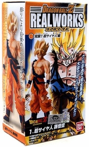 Dragonball Z Bandai 4.5 Inch PVC Real Works Collection 4 Super Saiyan Son Goku