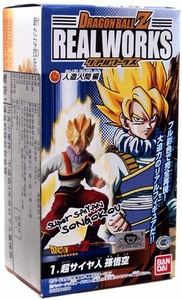 Dragonball Z Bandai 4.5 Inch PVC Real Works Collection 5 Super Saiyan Son Goku
