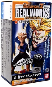 Dragon Ball Z Bandai 4.5 Inch PVC Real Works Collection 5 Super Saiyan Trunks