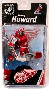 McFarlane Toys NHL Sports Picks Series 27 Action Figure Jimmy Howard (Detroit Red Wings) Red Jersey