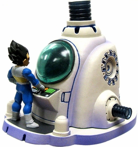 Dragon Ball Kai MegaHouse 3.5 Inch PVC Figures Chase Piece The Healing Machine [Goku & Vegeta]