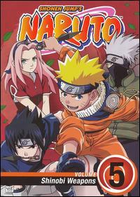 Naruto DVD Volume 5 Shinobi Weapons
