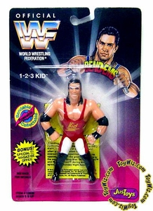 WWF / WWE Wrestling Superstars Bend-Ems Figure Series 1 1-2-3 Kid