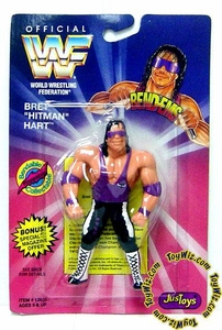 WWF / WWE Wrestling Superstars Bend-Ems Figure Series 1 Bret