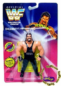 WWF / WWE Wrestling Superstars Bend-Ems Figure Series 1 Diesel [Kevin Nash]