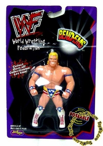 WWF / WWE Wrestling Superstars Bend-Ems Figure Series 1 Lex Luger